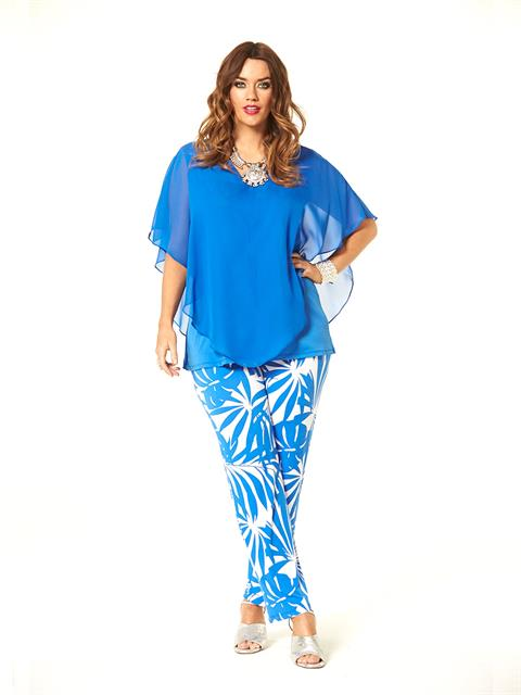 Blue Sea Palm Pant##