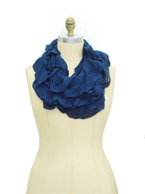 Frilled To Meet You Scarf##