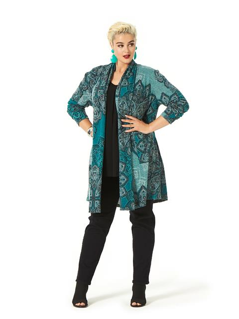 Marvelous May Paisley Cardi