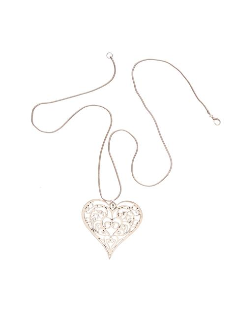 Filagree Heart Necklace