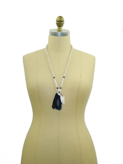 Blue Stone Necklace#