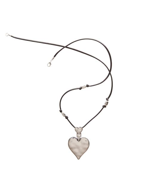 Cord Heart Necklace