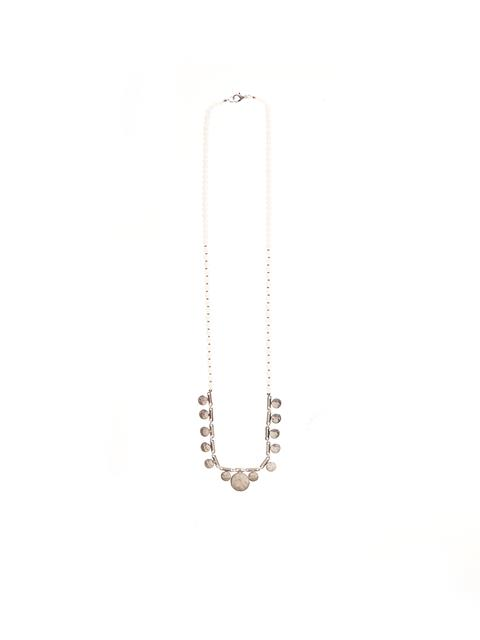 Flat Disk Necklace#